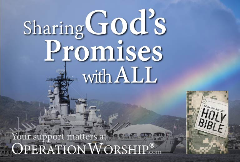 Partner with us to share God's Promises!